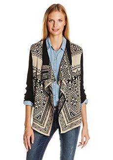 Lucky Brand Women's Waterfall Cardigan Sweater