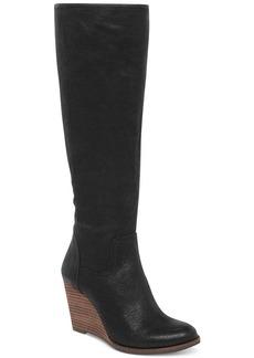 Lucky Brand Yacie Tall Wedge Boots