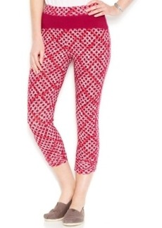 Lucky Lotus by Lucky Brand Geometric-Print Leggings