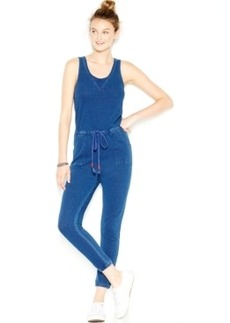 Lucky Lotus by Lucky Brand Sleeveless Drawstring Jumpsuit