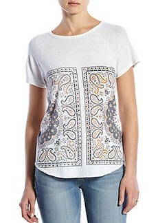 MIRRORED BANDANA TEE