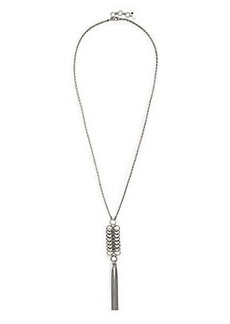 RING TASSEL NECKLACE
