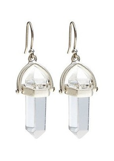 SINGLE CRYSTAL EARRING