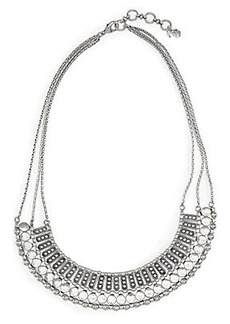 TEXTURED METAL NECKLACE