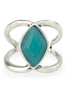 TRIBE FECTA STONE RING