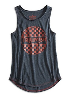 TRIUMPH BADGE TANK