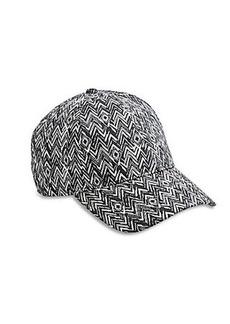ZIG ZAG BASEBALL HAT