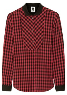 M Missoni Checked cotton shirt
