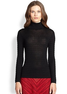 M Missoni Classic Knit Turtleneck