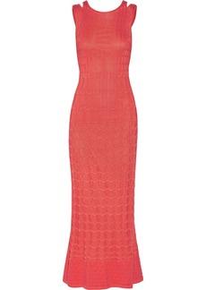 M Missoni Cotton-blend crochet-knit maxi dress