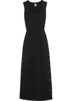 M Missoni Cotton-blend stretch-knit maxi dress