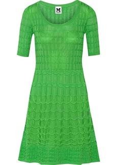 M Missoni Cotton-blend stretch-knit mini dress