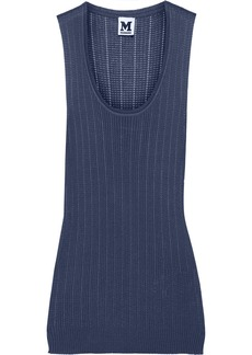 M Missoni Cotton-blend tank