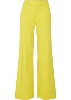 M Missoni Cotton-blend wide-leg pants