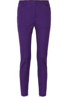 M Missoni Cotton-twill mid-rise skinny pants