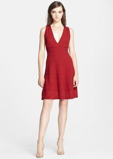 M Missoni Crisscross Back Rib Stitch Dress