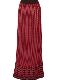 M Missoni Crochet-knit maxi skirt