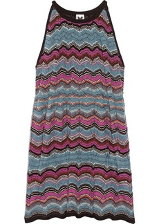 M Missoni Crochet-knit mini dress