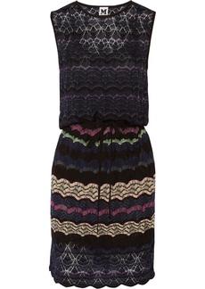 M Missoni Crochet-knit mini-dress