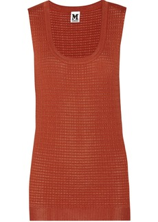 M Missoni Crochet-knit top