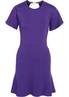 M Missoni Cutout back stretch-jersey mini dress