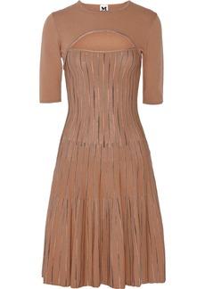M Missoni Cutout stretch-knit dress