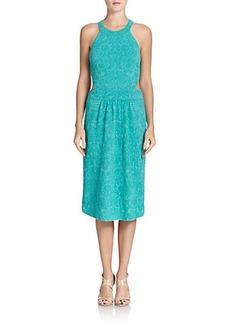 M Missoni Embroidered Jacquard Dress