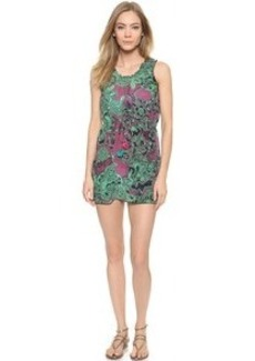 M Missoni Floral Zig Zag Cover Up