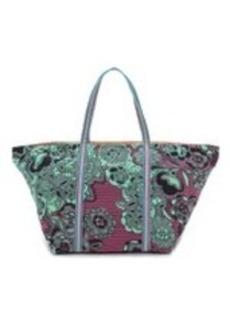 M Missoni Floral Zigzag Beach Bag