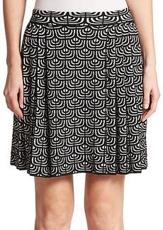 M Missoni Geometric Jacquard Flippy Skirt