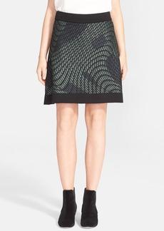 M Missoni Graphic Knit Skirt