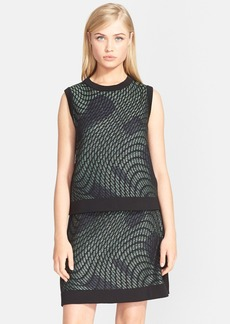 M Missoni Graphic Knit Sleeveless Top
