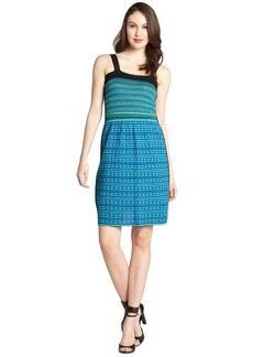 M Missoni green and blue cotton blend sun dress