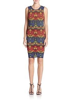 M Missoni Intarsia-Print Tank Dress