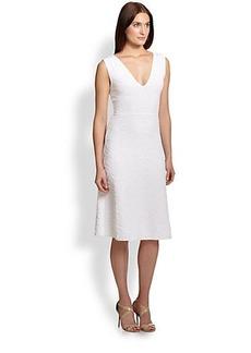 M Missoni Jacquard V-Neck Dress