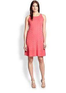 M Missoni Knit Cheveron Trapeze Dress