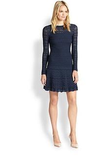 M Missoni Knit Lace Dress