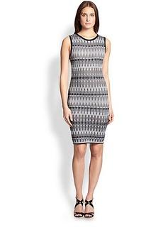 M Missoni Knit Tie-Dye Dress
