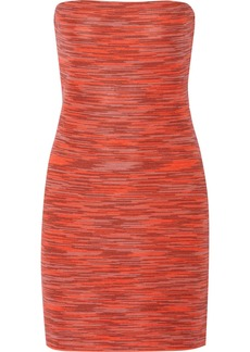 M Missoni Knitted cotton-blend mini dress
