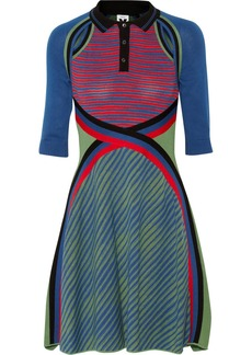 M Missoni Knitted cotton dress