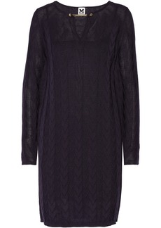 M Missoni Knitted fleece wool-blend dress