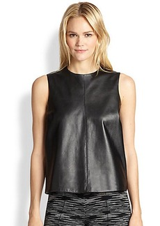M Missoni Leather Tank