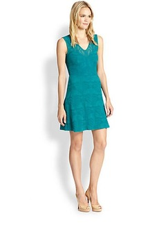 M Missoni Lily-Of-The-Valley Jacquard Dress