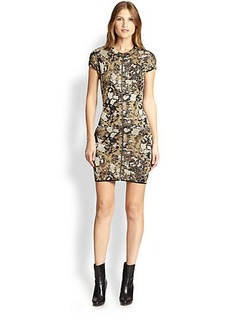 M Missoni Lurex Marble Jacquard Dress