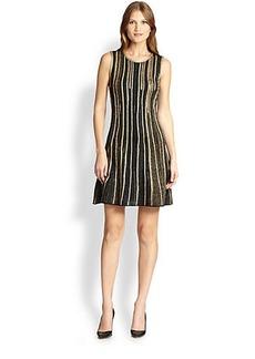 M Missoni Lurex Striped Dress