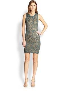 M Missoni Lurex Two-Tone Dress