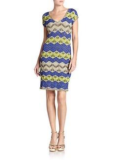 M Missoni Lurex Zigzag Dress