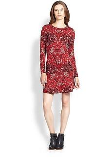 M Missoni Marble Jacquard Wool Dress