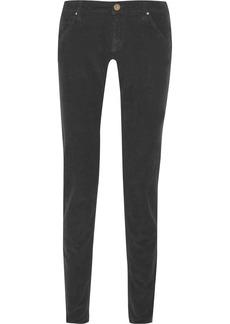 M Missoni Mid-rise corduroy skinny jeans