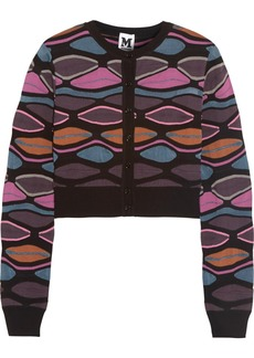 M Missoni Mid-weight knitted cardigan